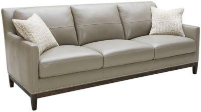 Roma Como Leather Sofa Art Van Home