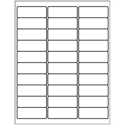 templates address label 30 per sheet avery