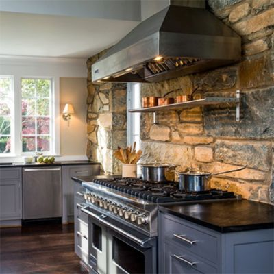 How This Family Turned A Tiny Galley Kitchen Into A Light Open Space Viking Range LLC