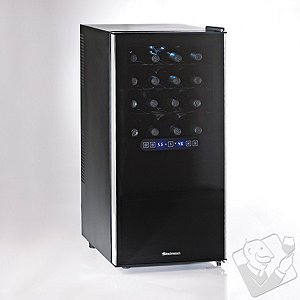 Wine Enthusiast Silent 32 Bottle Dual Zone Touchscreen Wine Refrigerator