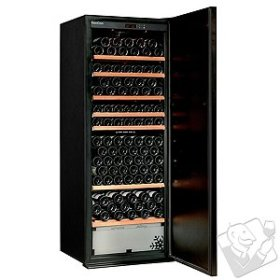 EuroCave Performance 283 Wine Cellar (2 Temp) (Black - Solid Door)
