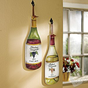 Personalized Wine Bottle Trivet