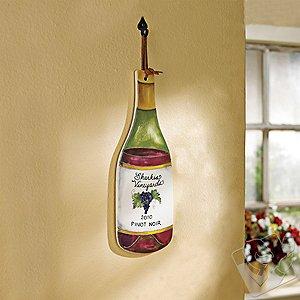 Personalized Wine Bottle Trivet