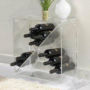 24 Bottle Acrylic Wine Cube