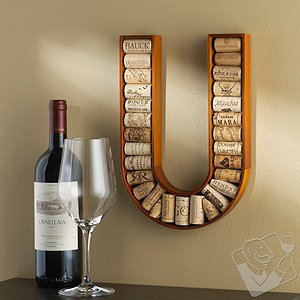 Alphabet Letter Wine Cork Kit