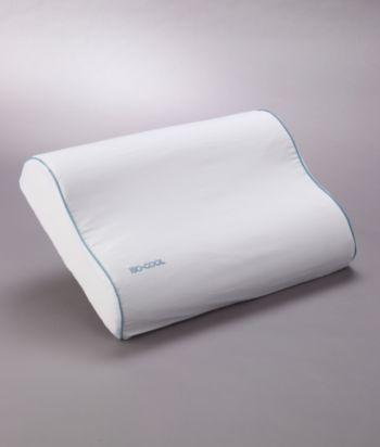 iso cool visco elastic memory foam pillow with outlast cover bedding wandegar home garden