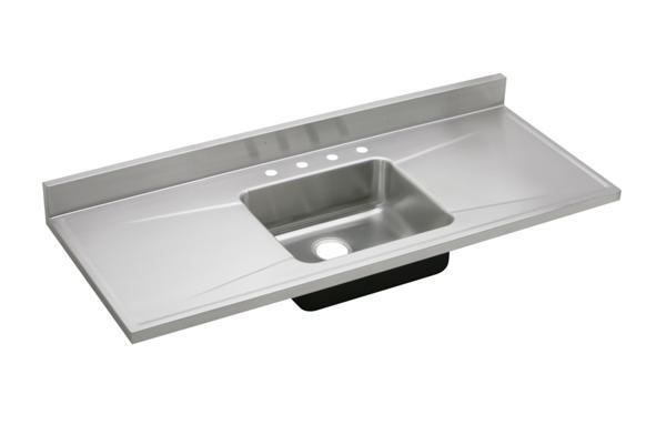 Custom Sinks And Stainless Steel Countertops