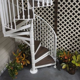 Trex® Spiral Stairs™ Named Best New Product For 2014   Trex Spiral Stairs Cost   Handrail   Trex Transcend   Stair Case   Stair Treads   Powder Coated