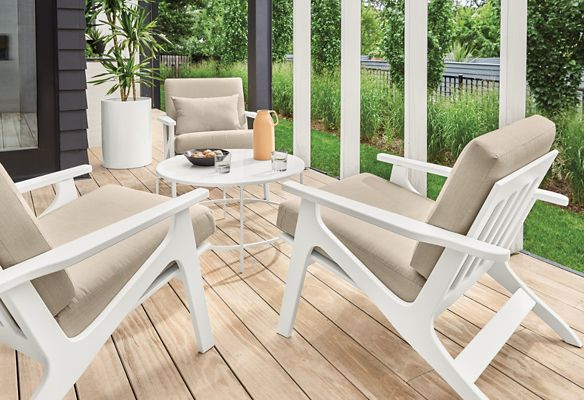 commercial outdoor furniture room