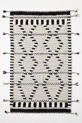 Criss Cross Flat Woven Rug Anthropologie