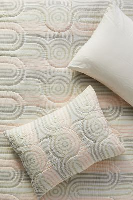 pillow shams textured colorful