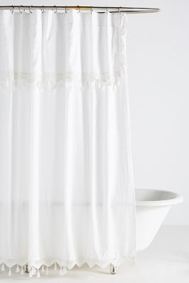 French Style Shower Curtains Add Stylish Texture And Color To Your Private Space