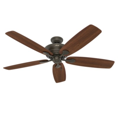 60 BronzeBrown Ceiling Fan Regalia 54044 Hunter Fan