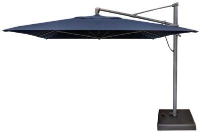 treasure garden canopy rectangular cantilever umbrella