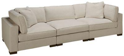 max home bermuda 3 piece sectional sofa