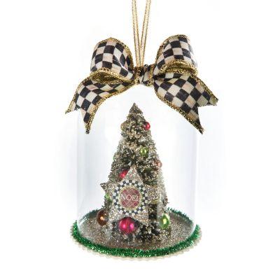 MacKenzie Childs Yuletide Manor Cloche Ornament