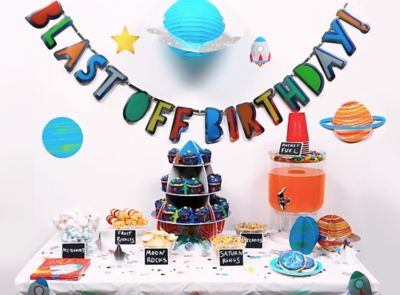 outer space birthday party ideas