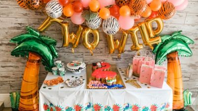 Jungle Themed Birthday Party Party City
