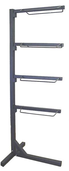 4 arm stackable saddle rack