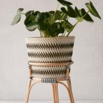Bistro 12 Rattan Planter Stand Urban Outfitters