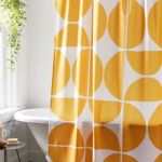 The Old Art Studio For Deny Mid Century Modern Geometric 04 Shower Curtain Urban Outfitters