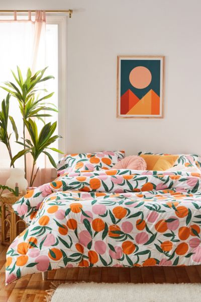 Peaches Comforter Set Urban Outfitters