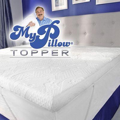 mypillow mattress topper twin