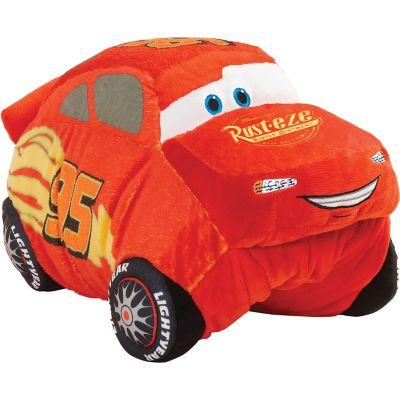 pillow pets disney pixar cars 3 lightning mcqueen 30 jumboz pillow pet