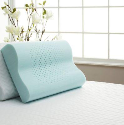 isotonic comfort tech serene comfort foam contour pillow