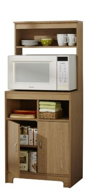 alcove microwave stand