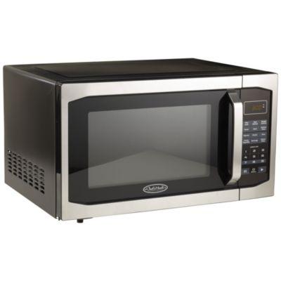 chef s mark 1 6 cu ft 1100 watt microwave oven