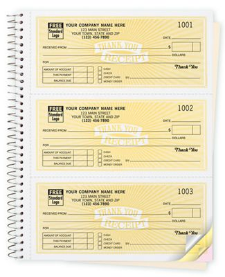 Cash Receipt Books Classic Design 3 To Page 693 Deluxe