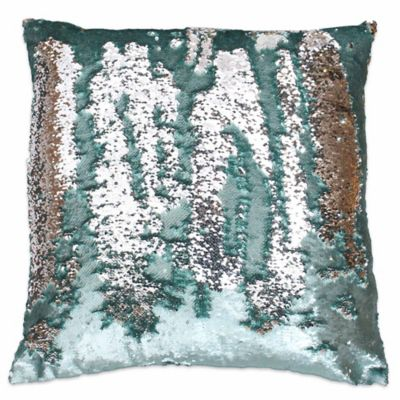 Thro By Marlo Lorenz Melody Mermaid Sequin Square Throw