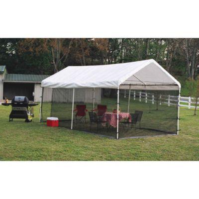 ShelterLogic Canopy Screen Kit 10 Foot X 20 Foot Bed