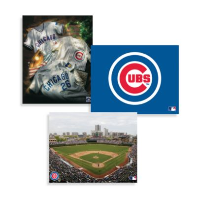 MLB Chicago Cubs Canvas Wall Art Bed Bath Amp Beyond