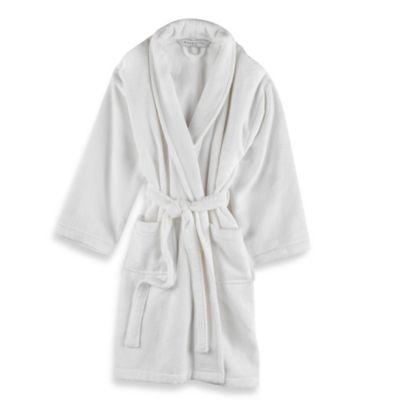 Wamsutta 174 Unisex Terry Bathrobe In White Bed Bath Amp Beyond