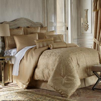Waterford 174 Linens Anya Reversible Comforter Set Bed Bath