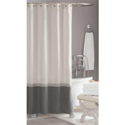 Wamsutta Greek Key Hotel Shower Curtain WwwBedBathandBeyondcom