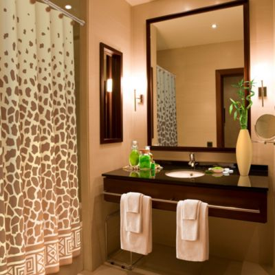 Giraffe Print 70 Inch X 72 Inch Shower Curtain Bed Bath Amp Beyond