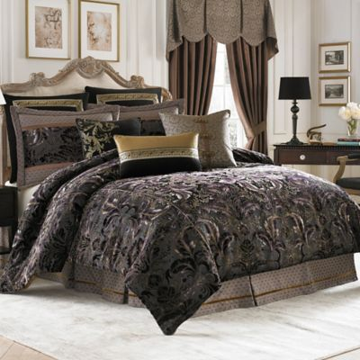 Croscill Couture Selena Reversible Comforter Set Bed