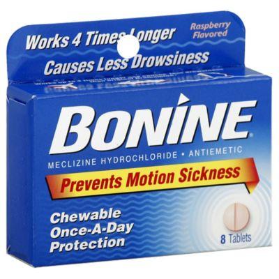 Bonine 8 Count Chewable Motion Sickness Tablets Bed Bath Amp Beyond