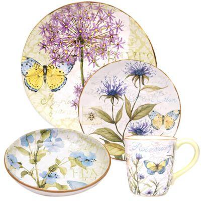 Certified International Herb Garden Dinnerware Collection