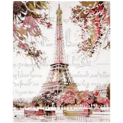 Paris Springtime Canvas Wall Art Bed Bath Amp Beyond