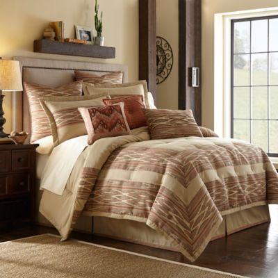 Desert Ridge Comforter Set In Terracotta Bed Bath Amp Beyond