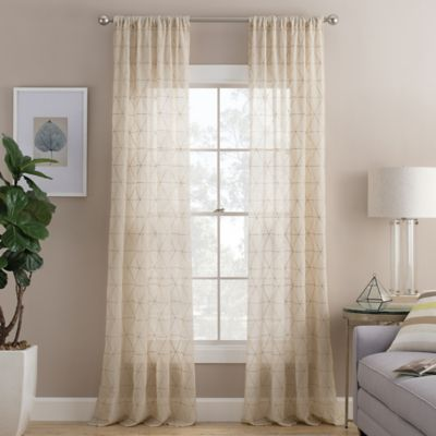 Buy Sheer Window Curtain From Bed Bath Amp Beyond