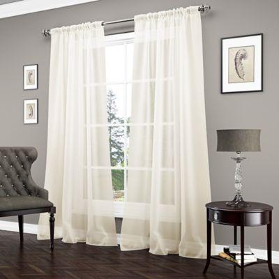 Vue Carrington Sheer Window Curtain Panel Bed Bath Amp Beyond