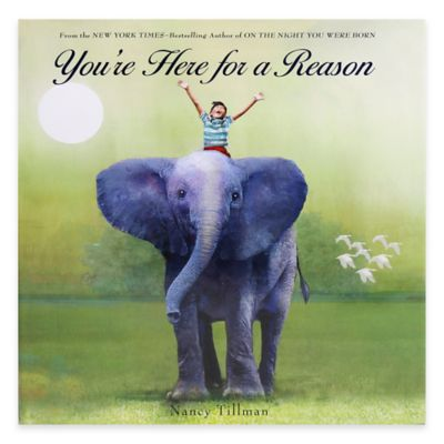 Youre Here For A Reason Book By Nancy Tillman Buybuy BABY