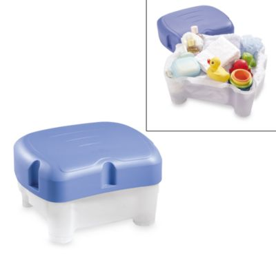 Wondrous Baby Bath Tub With Step Stool Tummy Tub Stool Blue Baby Beatyapartments Chair Design Images Beatyapartmentscom