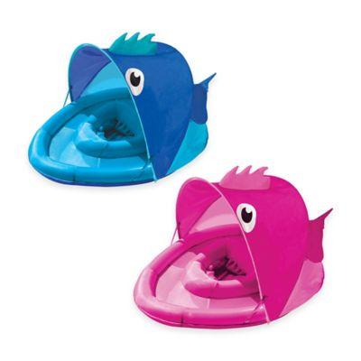 Aqua Leisure Fabric Covered Fun Fish Baby Float Buybuy BABY