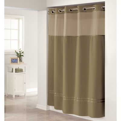 Buy Hookless Escape Shower Curtain In Desert Taupe From Bed Bath Amp Beyond